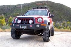 We've been designing Jeep Liberty lift kits since 2002 and have more experience than any other company. Our Rockfather suspension system provides the best ride quality and handling out of any Jeep Liberty lift kit on the market. Jeep Liberty Lifted, 2006 Jeep Liberty, Off Road Bumpers, Jeep Bumpers, Suv 4x4, Jeep 4x4, Jeep Liberty Renegade, Red Jeep, Jeepney