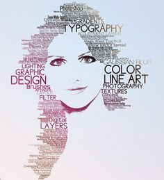 typography to make a picture - Google Search