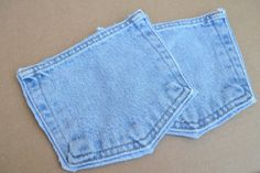 Denim pockets by BlueGeneBaby on Etsy, $4.50
