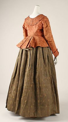 Ensemble  --  18th Century  --  Silk  --  Likely Austrian  --  The Costume Institute at The Metropolitan Museum of Art