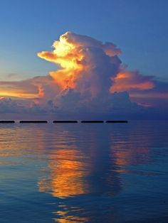 Portrait of a cloud, a photo from Maale, North | TrekEarth