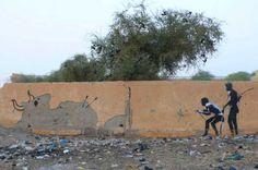 Beste street art van Banksy - Vrouwen.nl