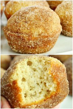"""Keto Muffins – The classic cinnamon """"Sugar"""" Donut Style !, Keto Muffins – The classic cinnamon """"Sugar"""" Donut Style ! Quick Snacks, Keto Snacks, Low Carb Desserts, Low Carb Recipes, Bread Recipes, Real Food Recipes, Keto Diet Drinks, Starting Keto Diet, Cinnamon Sugar Donuts"""