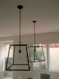 (1) Farol Colgante En Hierro Altura 48cm Ancho 50cm - $ 1.400,00 en Mercado Libre Living Styles, Iron Decor, Kitchen Cabinet Design, Minimalist Design, Light Fixtures, Sweet Home, House Design, Ceiling Lights, Lighting