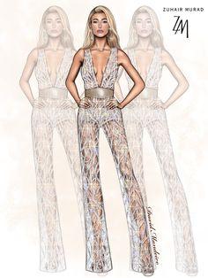 Hailey Baldwin ⭐⭐⭐ wearing ZUHAIR MURAD #vmas2017   Or  ? #digitaldrawing by David Mandeiro Illustrations #digitalart #HaileyBaldwin #ZuhairMurad #Wacom
