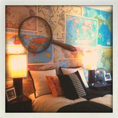 Maps as wallpaper