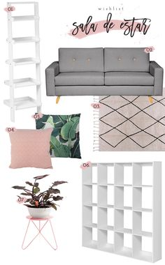Quer inspirações para dar um up no seu home office e sala de estar? Então vem conferir minha wishlist com os meus maiores desejos do momento!