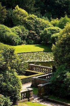 The Manor Garden Garden Pool, Garden Paths, Shade Garden, Garden Art, Garden Landscaping, Manor Garden, Dream Garden, Formal Gardens, Outdoor Gardens
