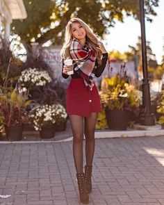 Cute Christmas Outfits, Casual Fall Outfits, Winter Fashion Outfits, Girly Outfits, Fall Winter Outfits, Classy Outfits, Look Fashion, Stylish Outfits, Classy Christmas