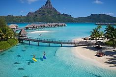 Official site - View pictures of InterContinental Hotels Bora Bora Resort Thalasso Spa. See hotel photos, learn about amenities & book with Best Price Guarantee. Florida Vacation, Florida Travel, Vacation Places, Florida Beaches, Vacation Trips, Honeymoon Destinations, Vacation Spots, Dream Vacations, Places To Travel
