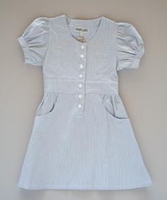 fun vintage looking dress for the girls.