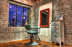 Salvage Salon Booth HDR, Phoenix AZ by www.alexsommersphotography.com, via Flickr
