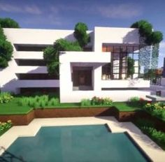 Top 5 Modern Houses In Minecraft 2015 HD