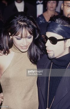 STATES - Prince and his wife Mayte Garcia at the NAACP Image Awards.