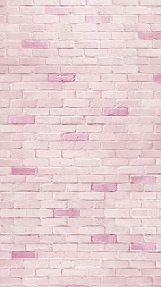 Pink brick iphone wallpaper