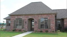 The Beauvoir floor plan by builder Manuel Builders for our new homes in Lafayette and Lake Charles LA. Lake Charles La, Country Style House Plans, Gazebo, Shed, New Homes, Floor Plans, Cottage, Outdoor Structures, House Design
