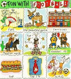 Dictionary of Football da Bothy Threads - Bothy Threads - Ricamo - Casa Cenina