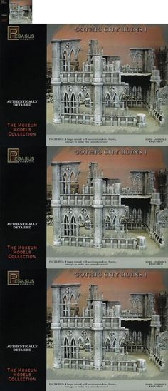 Terrain and Scenery 177640: 28Mm Gothic City Building Ruins Set 1 -> BUY IT NOW ONLY: $32.58 on eBay!