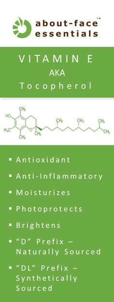 Topical Vitamin E (Tocopherol) #c+therapy