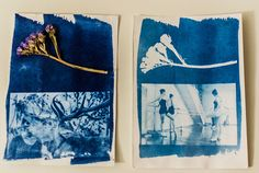 Cyanotype-Creative photographic technique on the paper • Alexandra Jitariuc