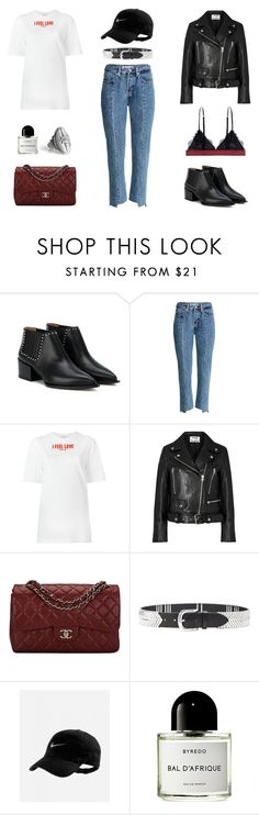 """380 - Sporty And High Fash Part 2"" by caroline-mathilde ❤ liked on Polyvore featuring Givenchy, Acne Studios, Chanel, Isabel Marant, Byredo and LoveStories"