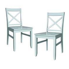 aqua chairs - set of 2 $119 || Target