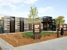 coffee drive thru designs | The drive-through that can drive-away: Starbucks opens Ikea-like flat ...