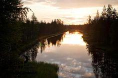 Käyrämö, Rovaniemi in Finnish Lapland. Photo by Jani Kärppä. #filmlapland #arcticshooting #finlandlapland