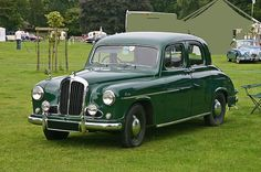 1954/56 Singer hunter 4-door saloon with 4-cylinder OHC 1.5L engine