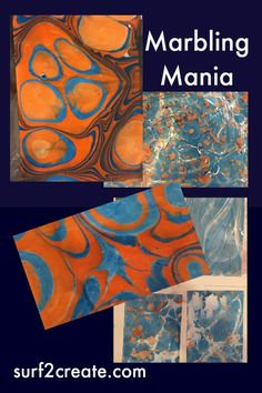 Learning how to marble paper.fabrics coming soon! Check it out! Paper Marbling, Tiger Paw, Create And Craft, Marble, Fabrics, Craft Ideas, Learning, Check, Room
