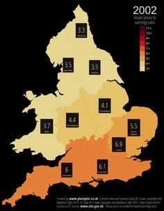 England and Wales house prices - Vivid Maps North Yorkshire, House Prices, Wales, United Kingdom, Oc, England, Welsh Country, English, British