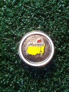 Masters GOLF Ball Marker from Augusta National - BRAND NEW WHITE
