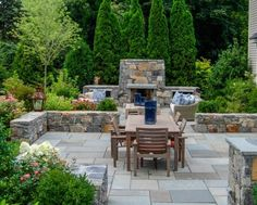 30 Stone Wall Pictures and Design Ideas to Beautify Yard Landscaping ...