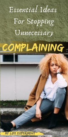 We all complain from time to time and some complaining is normal and even healthy. But, with that being said there is a line that can be crossed that takes complaining from blowing off steam to using it as an unhealthy coping skill. Herbal Cure, Herbal Remedies, Health Remedies, Natural Remedies, Health Quiz, Health And Wellness, Healthy Tips, Healthy Habits, Mental Health Resources