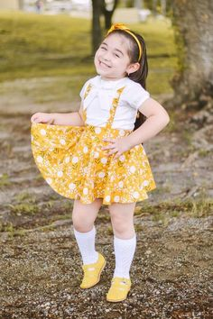 Your place to buy and sell all things handmade Suspender Skirt, Oxford White, Marigold, Toddler Girl, Flower Girl Dresses, Sewing, Trending Outfits, Wedding Dresses, Girls