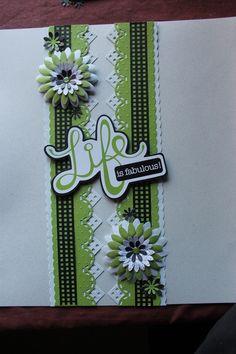 CM scallop stitch and diamond cartridges, the black sticker ribbon from CM