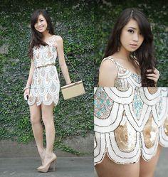 The Little Sparkly Dress (by Kryz Uy) http://lookbook.nu/look/3808515-The-Little-Sparkly-Dress
