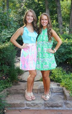 Lilly Pulitzer Outfits Me And My Best Friend Gabby Need This Picture Preppy Outfits, Cool Outfits, Summer Outfits, Preppy Fashion, Amazing Outfits, Women's Fashion, Preppy Girl, Preppy Style, My Style