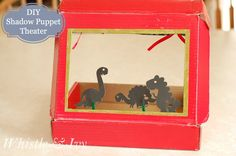 Shadow Puppet Theater and Getting Prepared with Duracell®! Tutorial more making this cute theater for when the lights go out.