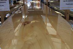 Surfboard. Wood. Beauty.