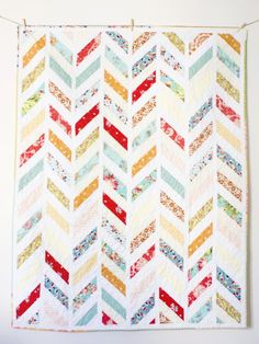"""My Song"" Herringbone Quilt Pattern 