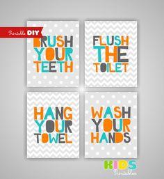 Diy Kids Bathroom Decor diy bathroom picture decor | bath tubs, tubs and diy bathroom decor