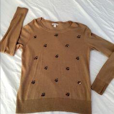 Sweater Brown sweater merona size 6 Sweaters Crew & Scoop Necks