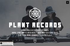 PLANT RECORDS | Web Design File