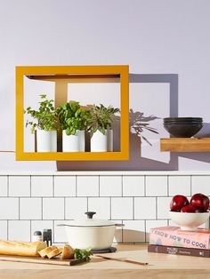 Yes, You Can Grow Fresh Herbs in Your Dimly Lit Kitchen Full Sun Plants, Low Light Plants, Different Plants, Types Of Plants, Led Grow Lights, Low Lights, Traditional Lighting, Light And Space, Led Panel