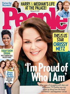 """People Magazine on Twitter: """"#ThisIsUs' @ChrissyMetz on finding happiness after years of dieting and depression: 'I'm proud of who I am' ..."""
