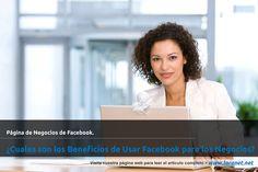 �Cuales son los Beneficios de Usar Facebook para los Negocios?