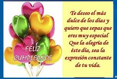 frases de feliz cumpleaños Birthday Wishes For Friend, Birthday Wishes Quotes, Happy B Day, Wedding Desserts, Special Occasion, How To Memorize Things, Birthdays, Google, Portal