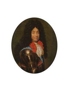 Ecole FRANCAISE de la fin du XVIIème siècle - Portrait de Louis XIV Louis Xiv, Ludwig Xiv, France, Old Master, Paris, Versailles, Portrait, Sculptures, Auction