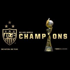 Congratulations U.S. Women's National Soccer Team! #TeamUSA #USWNT